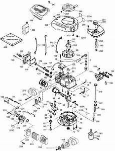 Push Mower Engine Diagram