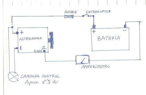 como conectar un alternador p cargar una bateria foros de mec 225 nica
