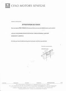 Attestation De Vente Voiture : d tournement de v hicules d 39 une valeur de 300 millions cfao motors s n gal voici les ~ Gottalentnigeria.com Avis de Voitures
