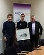Brendan McCreary receives his AirconMech long service ...