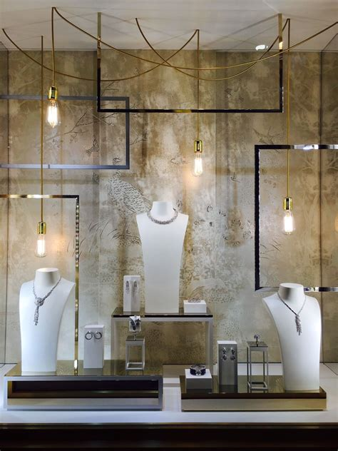 Window Covering Stores by Luxury Jewelry Window Display Space Cloakroom