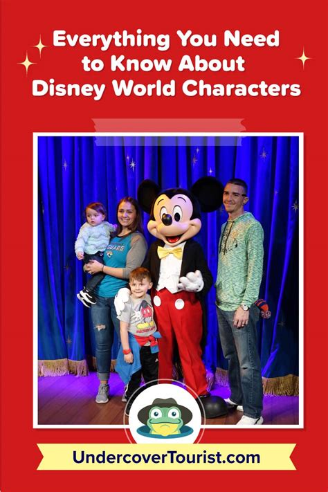 Everything You Need to Know About Disney World Characters