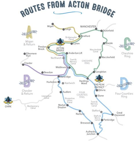 Canal Boat Cheshire by Cheshire Canal Map Cheshire Ring Bridgewater Canal