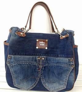 Taschen Beutel Nähen : jeans taschen taschen pinterest jeans tasche taschen und jeans ~ Eleganceandgraceweddings.com Haus und Dekorationen
