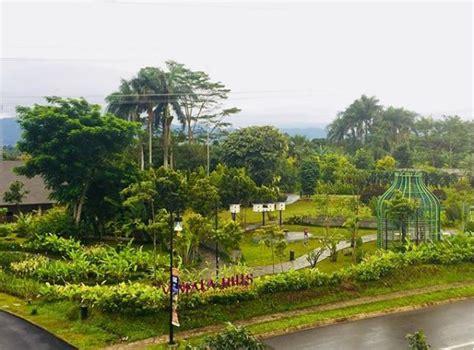 indahnya panorama taman vimala hills bogor informasi
