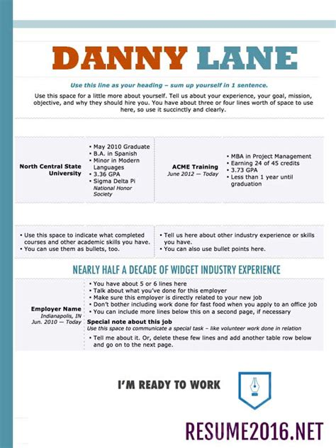 Professional Resume Styles by Resume Styles 2016 How To Choose The Best One