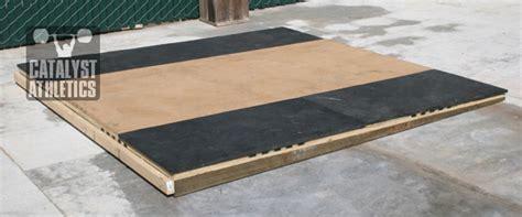building  lifting platform   slope  greg everett