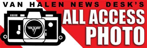 halen news desk vhnd s all access photo hangin at 5150 halen news desk