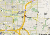 Map of Homestead Cleveland Beachwood, Beachwood