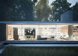 Maison Architecte Plain Pied : une maison design d 39 architecte plain pied en angleterre archionline maison d 39 architecte ~ Melissatoandfro.com Idées de Décoration