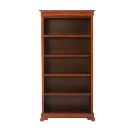 Bookcases At Home Depot by Home Decorators Collection Louis Philippe Sequoia Open