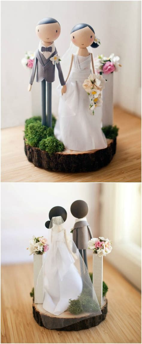 unique wedding cake toppers ideas  pinterest