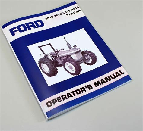 ford model     tractor owners operators