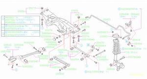 2004 Forester Rear Suspension Diagram