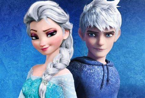 jack frost  elsa    cutest couple
