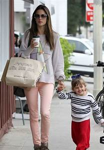 Alessandra Ambrosio & Kids Leaving The Brentwood Country ...