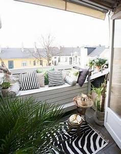 Balkon Bank Klein : knus ingericht klein balkon inrichting ~ Michelbontemps.com Haus und Dekorationen