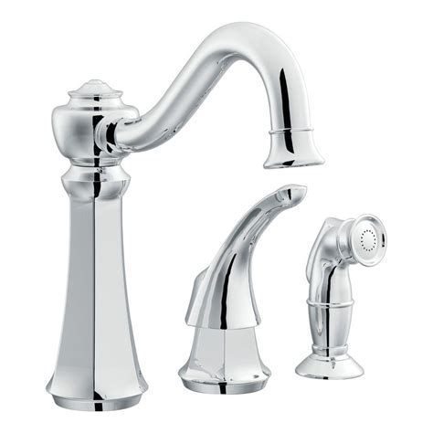 Vestige Kitchen Faucet by Moen Vestige 1 Handle Kitchen Faucet In Chrome 7065 The