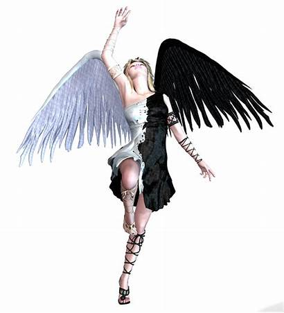 Angel Transparent Wings Warrior Variety Tubes Clipart