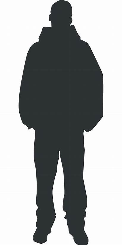 Silhouette Clip Human Standing Vector Newdesignfile Via