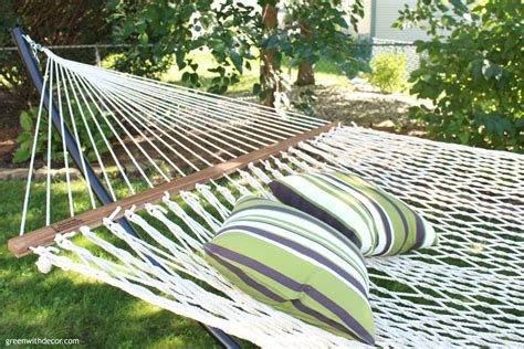 Relaxing In A Hammock by Green With Decor Time To Relax Hint A Hammock