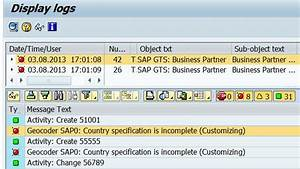 Sap Geocoder Basics And Gts Implications  Customer Master