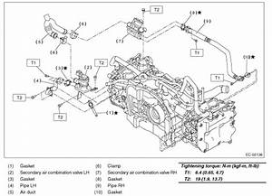 Where Is The Secondary Air Valve Located On A 2006 Subaru