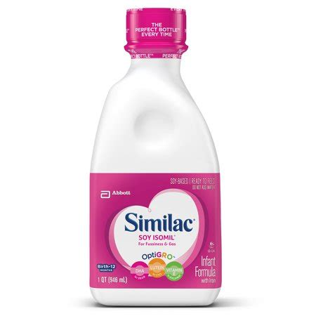 similac soy isomil  fussiness  gas infant formula