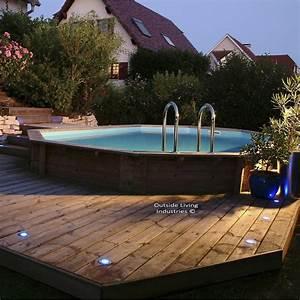 Piscine Leroy Merlin 2017 : piscine hors sol bois samoa pas cher piscine leroy merlin ~ Dode.kayakingforconservation.com Idées de Décoration