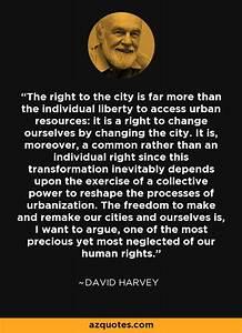 David Harvey qu... City Of David Quotes