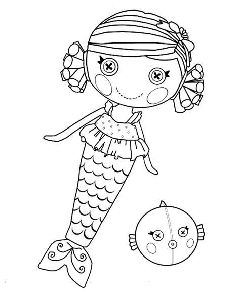 lalaloopsy coloring pages printables de personajes