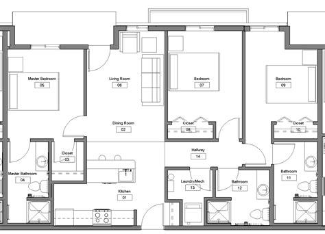 bedroom floorplan floor plan 3 bedroom studio design gallery best design