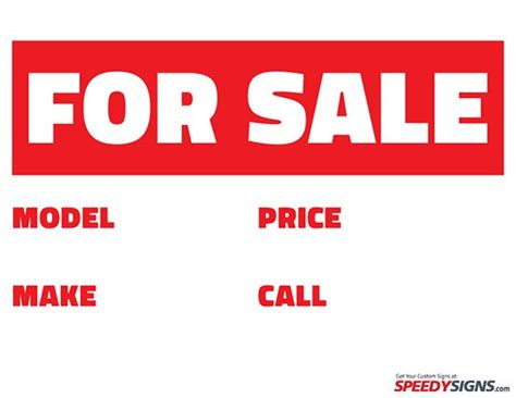 sale signs  print    sale model