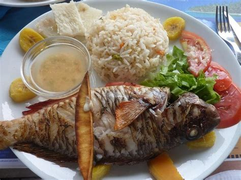 poisson grille cuisine creole guadeloupe delicious grilled fish and