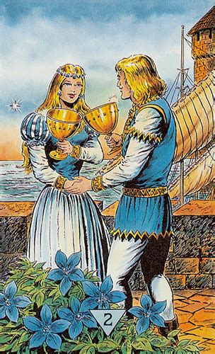 Free Daily Tarotscope  Nov 3, 2015  Two Of Cups