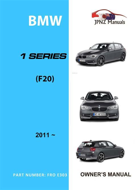 bmw  series car owners manual   model
