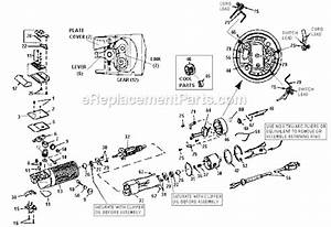 Oster Pro Turbo A5 Single Speed Parts List And Diagram