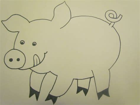 Pig Template For Preschoolers by Babies Toddlers And Preschoolers Oh My On The Farm