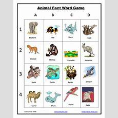Esl, English Vocabulary, Printable Animal Vocabulary Worksheets