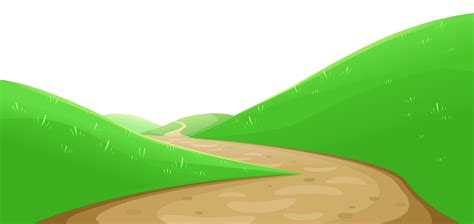 Hill Clipart Hill Clipart Pathway Pencil And In Color Hill Clipart