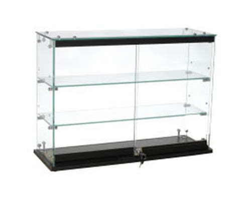 Countertop Showcases by Locking Glass Countertop Showcase Locking Glass Fixture