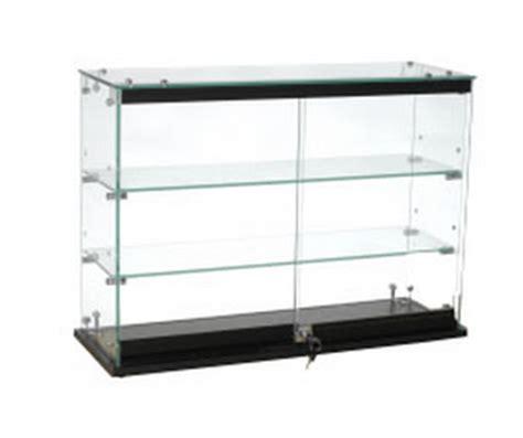 Countertop Showcases - locking glass countertop showcase locking glass fixture