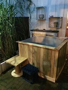 Pool Aus Container : ibc pool ibc container verlustpaletten paletten chabby pinterest hot tubs tubs and backyard ~ Orissabook.com Haus und Dekorationen