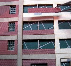 Window Detail Curtain Wall Panel System Twin Pack Kit N Quality