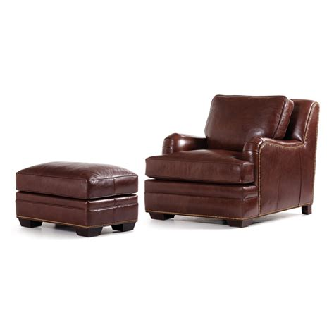 hancock and moore leather chair and ottoman hancock and moore 5012 highlands chair and ottoman