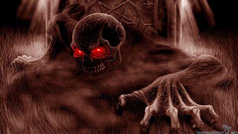 Scary Halloween Desktop Wallpaper ·①