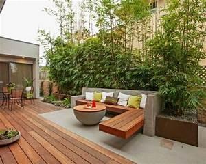 Terrassengestaltung Mit Sichtschutz : terrassengestaltung mit holz terrassengestaltung garten ~ Michelbontemps.com Haus und Dekorationen