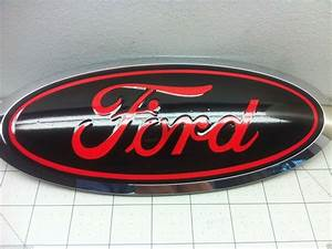 Ford F150 2015 2016 2017 Front And Rear Oval Emblem