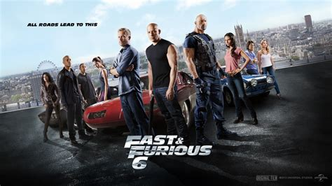 Fast And Furious 6 Wallpaper Fast And Furious 6 Movie 2013 Wallpapers 1280x720 324009