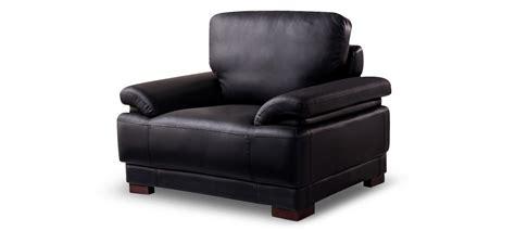 fauteuil design cuir noir exp 233 di 233 en 24h